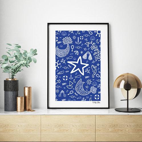 Estrela e coisas do mar