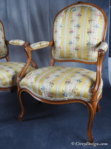 Pair Transition Armchairs