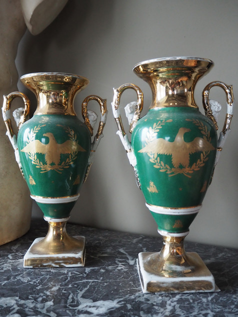 Empire-style Porcelain Vases