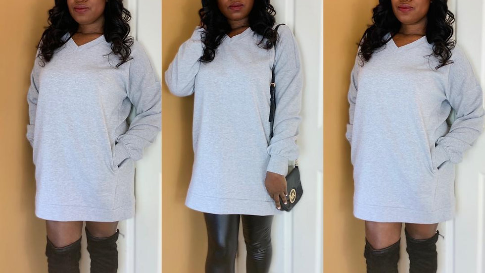 """Make Me Better"" Sweatshirt/Dress"