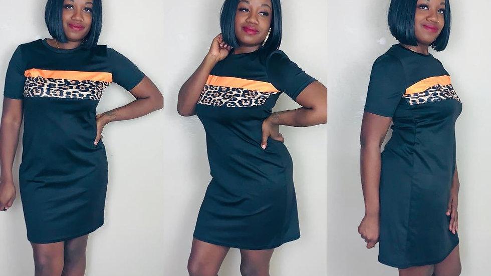 """""""Dunn Dunn"""" Leopard Dress"""