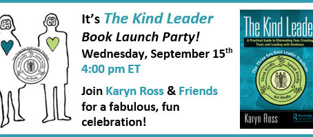 The Kind Leader Book Launch Party!