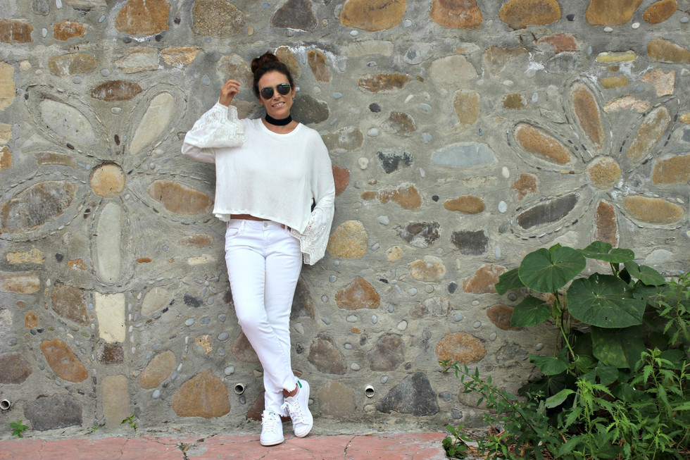 Outfit Blanco Relax.