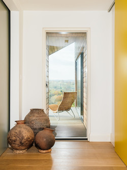 Entrance hall with views
