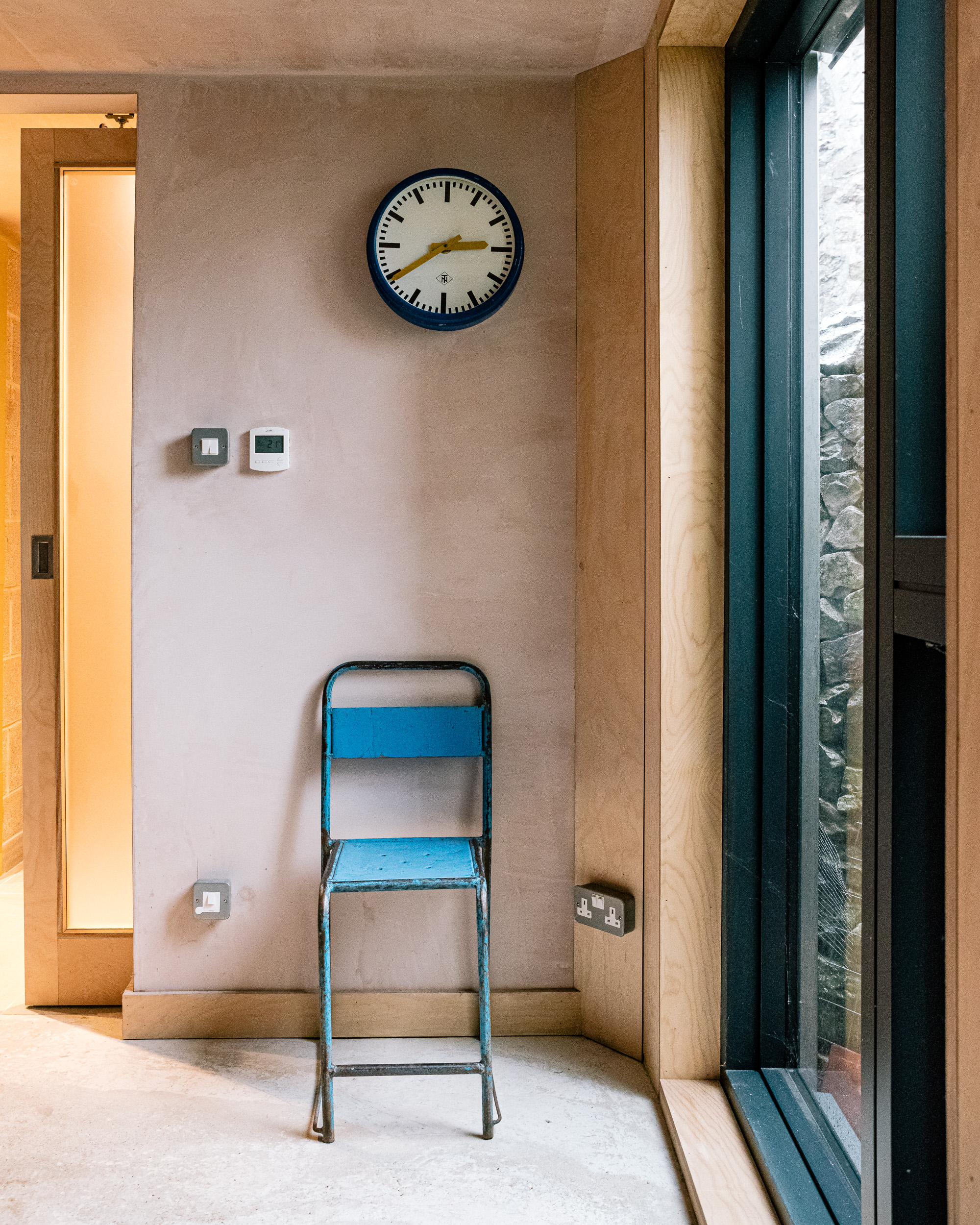 Utility room chair