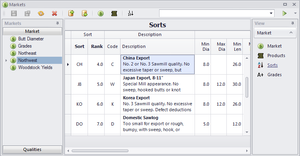Assisi Forestry Software Sorts