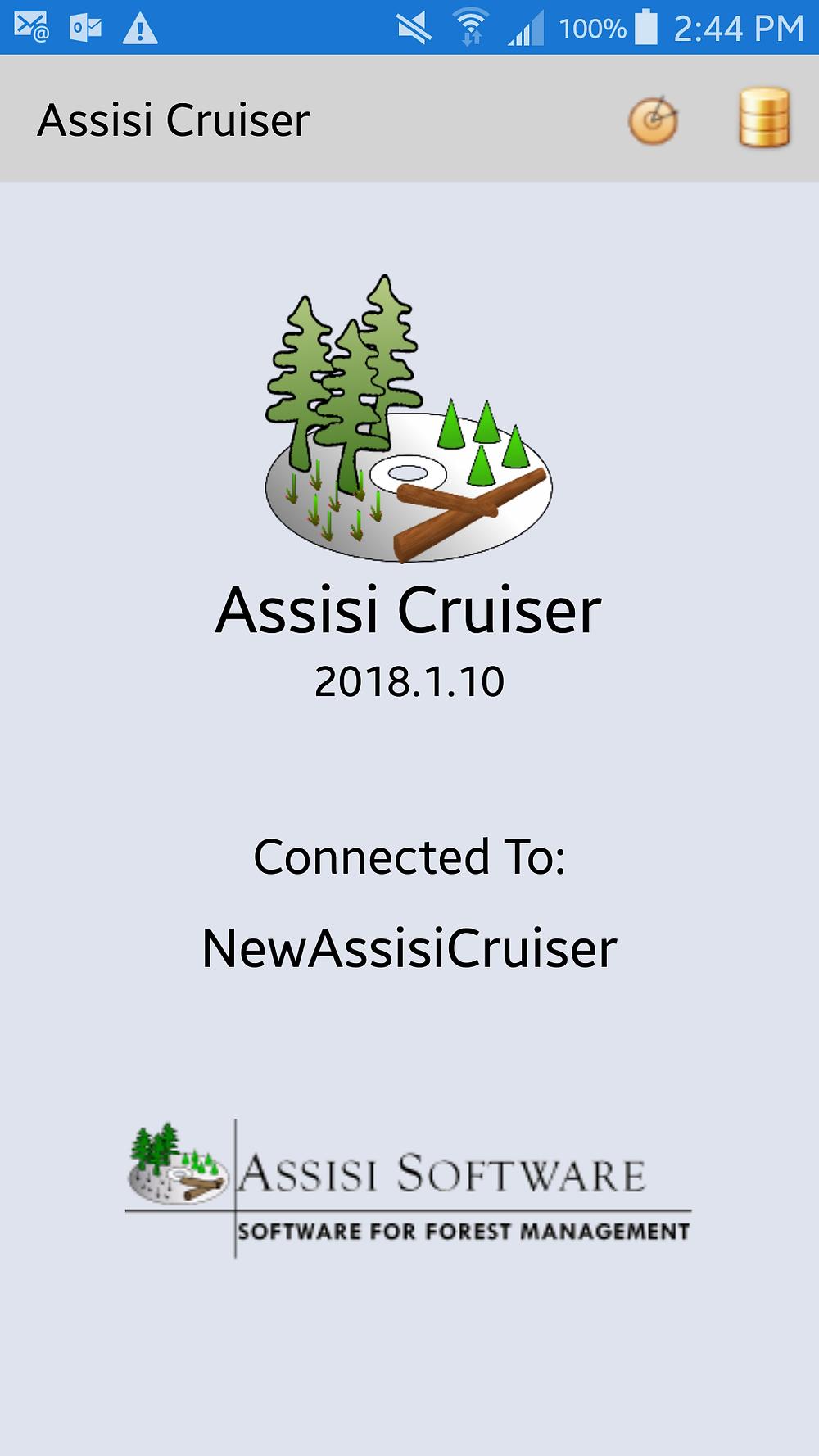 Assisi Cruiser Opening Screen
