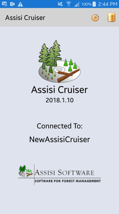 Assisi Cruiser Opening Screen