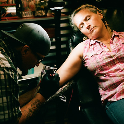Lucky Horseshoe Tattoo