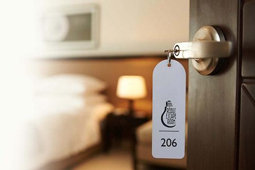 Hotel Clayton + detektivka pro 3-6 osob