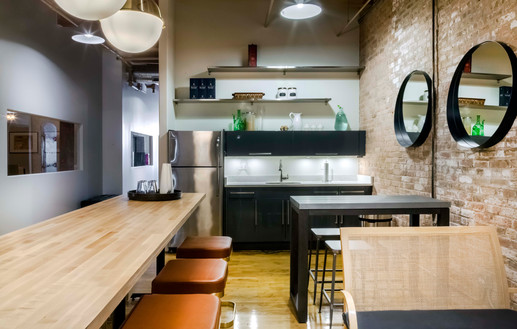 Free Access to Kitchen