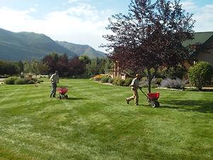 Durango Organic Fertilizer provided by Lupine Lawn Care