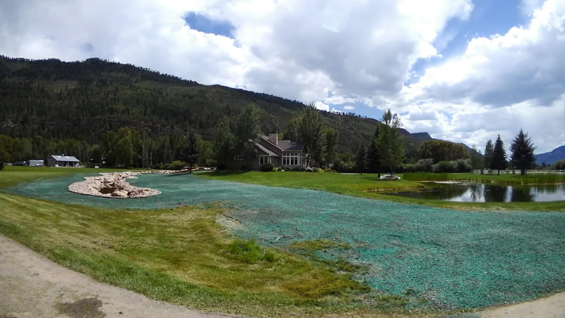 Durango Hydroseeding Project 81301