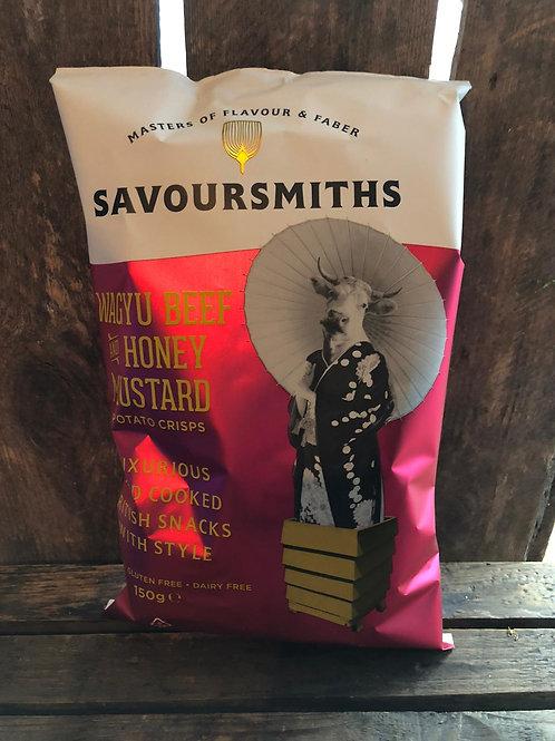 Savoursmiths - skin on potato crisps - 150g