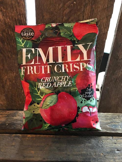 Emily Fruit Crisps - CRUNCHY RED APPLE - 30g