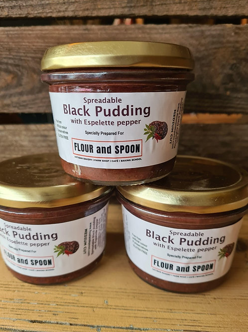 Spreadable Black Pudding with Espelette pepper 180g