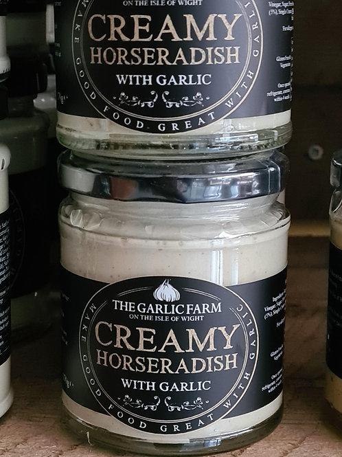 Creamy Horseradish with Garlic