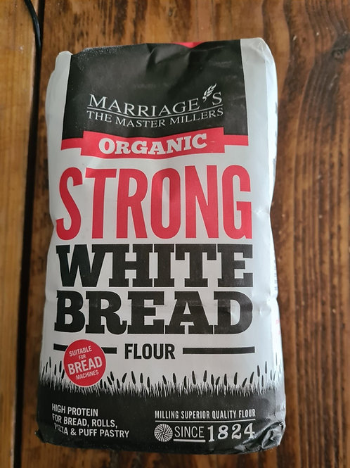 Marriage`s Organic Strong White Bread Flour 1kg