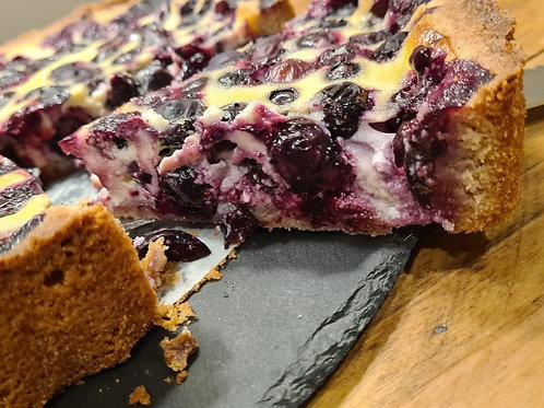 Mustikkapiirakka (Blueberry Tart)