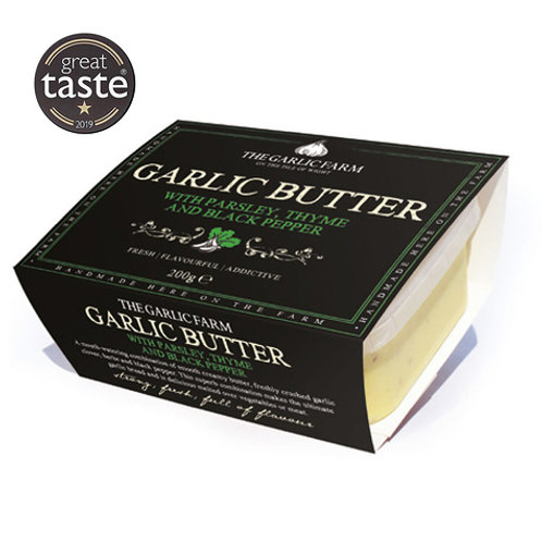 Garlic Butter with Parsley, Thyme and Black Pepper 200g