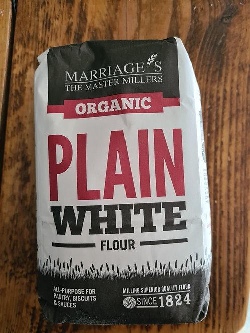 Marriage`s Organic Plain Flour 1kg