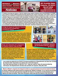HMHD BOLETIN INFORMATIVO SEPTIEMBRE 2020 ESPAÑOL
