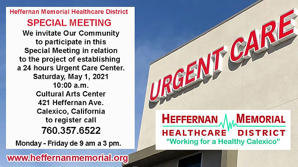 INVITATION HMHD SPECIAL MEETING MAY 1 co