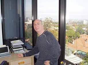 matt in new office.JPG