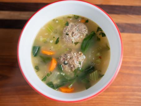 Victor Popovic & Healthy Italian Wedding Soup