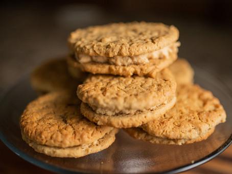 Gluten-Free Peanut Butter Sandwich Cookies