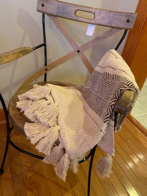 Blanket and Chair