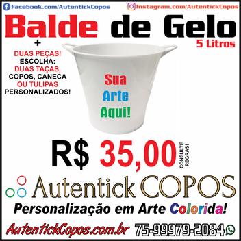 0020-Autentick Copos - BALDE DE GELO 5 L