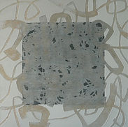 Misty memory 1, Acrylic,mixed media on canvas, 42x42cm