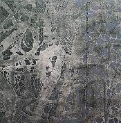 Awareness, Acrylic, mixed media on canvas