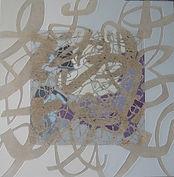 Chapter 2, Acrylic on canvas, 86.5x86.5cm
