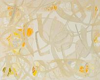 Morning sun, Acrylic, mixed media on canvas, 60x48inch