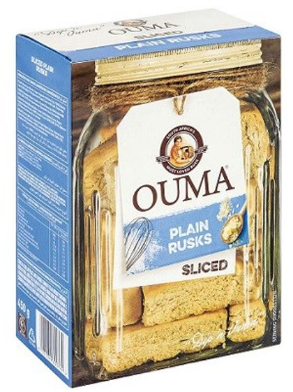 Ouma Plain Rusks - Sliced 4.5g
