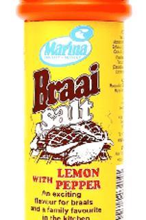 Marina Lemon & Pepper Braai Salt 400g