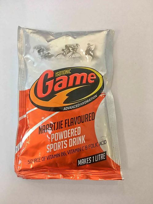 Isotonic Game Naartjie powder 80g Sachet