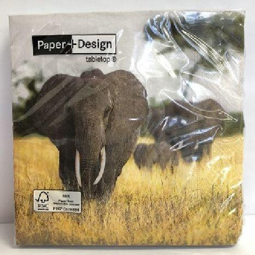 Designer Napkins Elephant – 20 units
