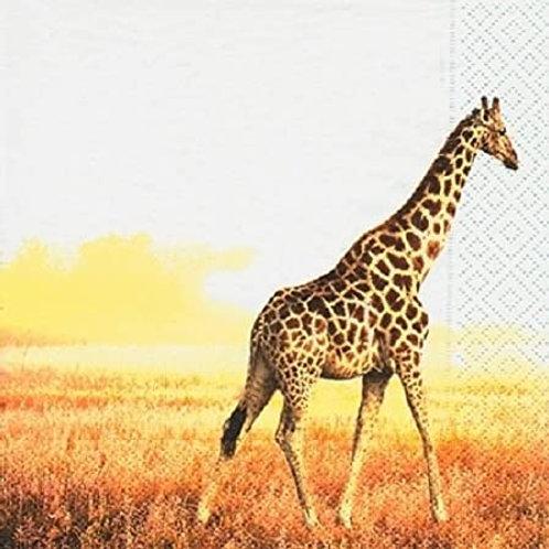 Designer Napkins Giraffe – 20 units