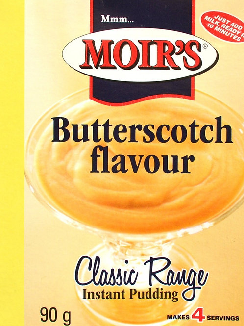 Moirs Butterscotch Instant Pudding