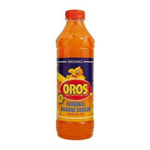 Brooke's Oros Orange Squash 1l
