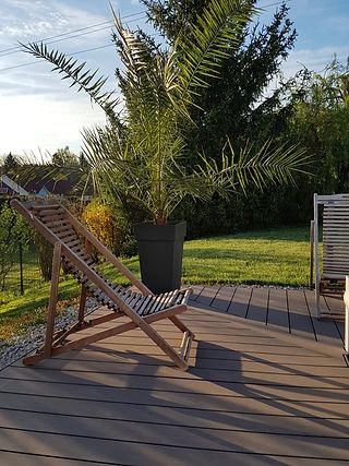 Lames de terrasse bois composite wengé