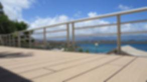 Lames de terrasse bois composite pleine