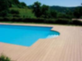 Lames de terrasse bois composite bois