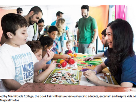 Miami Book Fair a fun way for youngsters to learn about arts, technology and culture