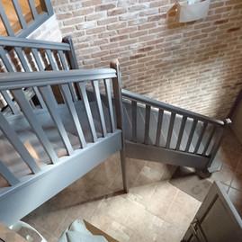 Cage d'escalier - avant travaux
