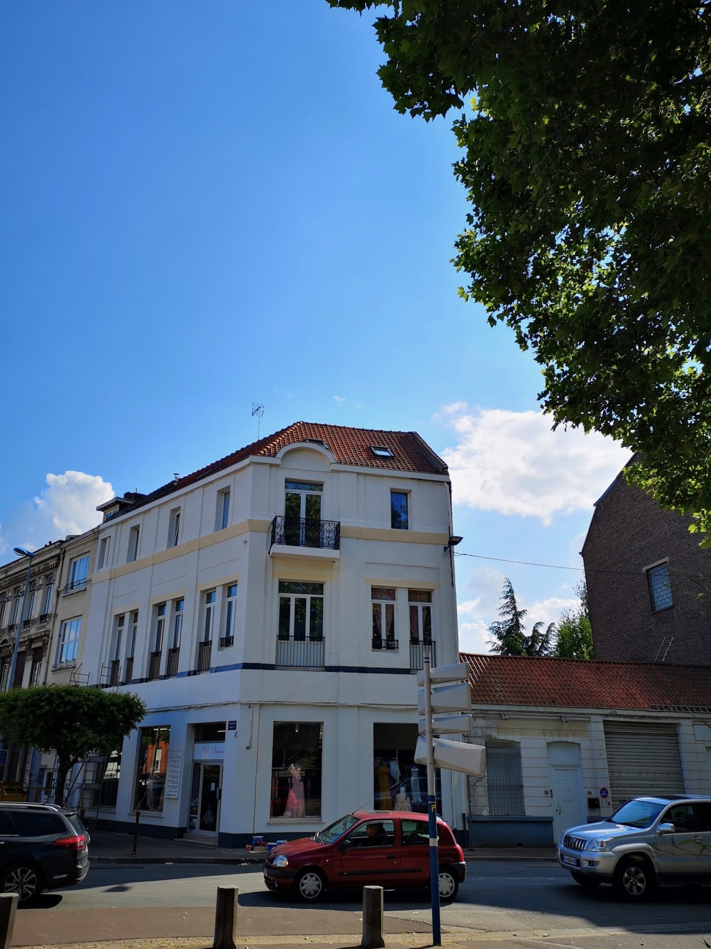 Peinture façade immeuble