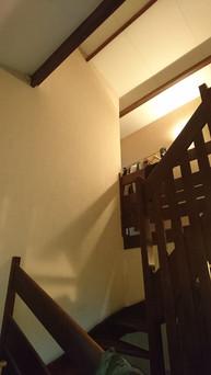 Cage d'escalier avant travaux